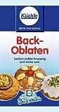 Backoblaten 8 cm für Lebkuchenmühle 80 Stück