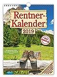Rentner-Kalender 2019 Wandkalender Notizkalender: mit aufwendiger Rückseitengestaltung