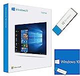 Windows 10 Home 64 Bit Deutsch Lizenz - Windows 10 Home Lizenz - Windows 10 Home USB Stick Deutsch - Windows 10 Home Deutsch