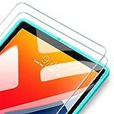 ESR [2 Stück Display Schutzfolien Kompatibel mit iPad 8 (2020) / iPad 7 (2019) / iPad Air 3 / iPad Pro 10,5 [Gehärteter Displayschutz] [Praktischer Montagerahmen] [Kratzresistent]
