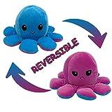 Reversible Flip Plüsch Oktopus Spielzeug Puppen Doppelseitiger Plüschtiere Nettes Geschenk der Kreativen Tintenfisch Puppe Kinderspielzeug