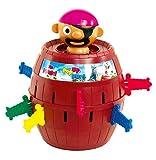 TOMY Kinderspiel 'Pop Up Pirate' - hochwertiges Aktionsspiel für die ganze Familie - Piratenspiel verfeinert die Geschicklichkeit Ihres Kindes - ab 4 Jahre