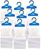 Sichler Haushaltsgeräte Raumentfeuchter: 9er-Set XL-Kleiderschrank-Entfeuchter zum Aufhängen, je bis zu 450 ml (Luftentfeuchter zum Aufhängen)
