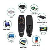 ZXGHS 2.4G Wireless Intelligente Sprach Fernbedienung, Geeignet Für Smart-TV, IPTV, Netzwerk-Set-Top-Box, Mini-Computer, Android TV-Box, Htplc, PCTV