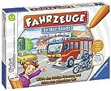 Ravensburger tiptoi Fahrzeuge in der Stadt Spiel, ab 3 Jahren, Wähle das richtige Fahrzeug und fahre zum gesuchten Ort