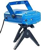 Lunartec Lichtorgel: Indoor-Laser-Projektor, Sternenmeer-Effekt, Sound-Steuerung, grün/rot (Party Laser)