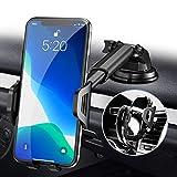 RAXFLY Handyhalterung-Auto-Lüftung, 3 in 1 Handyhalter Auto Handyhalterung Saugnapf, 360° KFZ Handy Halterung Auto Handyhalter fürs Auto Kompatibel für iPhone 11 Pro XS XR X 8 7 Samsung Huawei usw