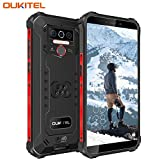 OUKITEL WP5 (2020) Outdoor Smartphone Ohne Vertrag, 4G Dual SIM IP68 wasserdichter,8000mAh Akku Robustes Handy, 4GB 32GB Android 9.0 Global Version 5,5 Zoll Triple Kamera Face/Fingerprint ID (Schwarz)