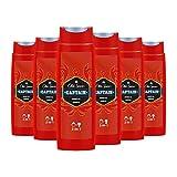 Old Spice Captain Duschgel und Shampoo für Männer, 6er Pack (6 x 250 ml), 2in1 Showergel + Shampoo, mit Männlichem Langanhaltendem Duft