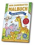 Mein zauberhaftes Malbuch: Welt der Tierkinder: Blauer Engel