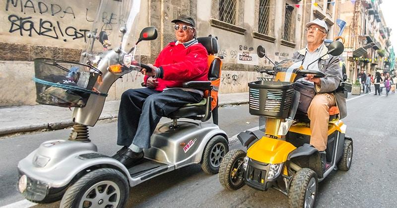 Den passenden Roller für Senioren finden
